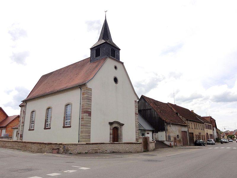 Photo du Monument Historique Eglise catholique Saint-Laurent situé à Lorentzen