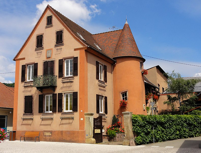 Photo du Monument Historique Maison situé à Marlenheim