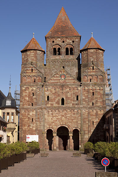 Photo du Monument Historique Ancienne abbaye bénédictine situé à Marmoutier