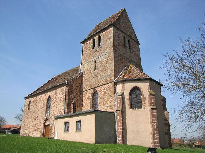 Photo du Monument Historique Eglise de Sindelsberg situé à Marmoutier