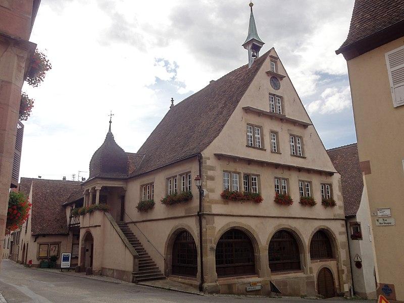 Photo du Monument Historique Hôtel de ville situé à Mittelbergheim