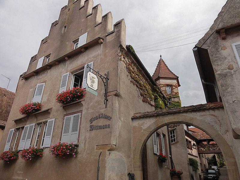 Photo du Monument Historique Maison situé à Mittelbergheim