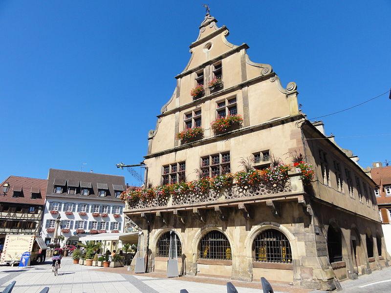 Photo du Monument Historique Grandes Boucheries situé à Molsheim