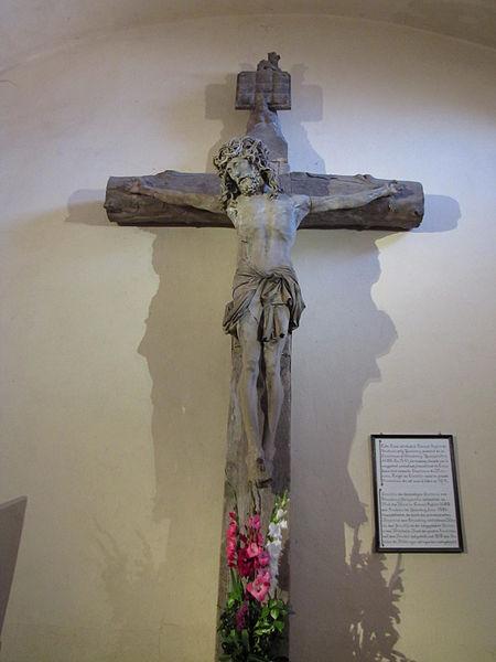 Photo du Monument Historique Grande croix du cimetière situé à Molsheim