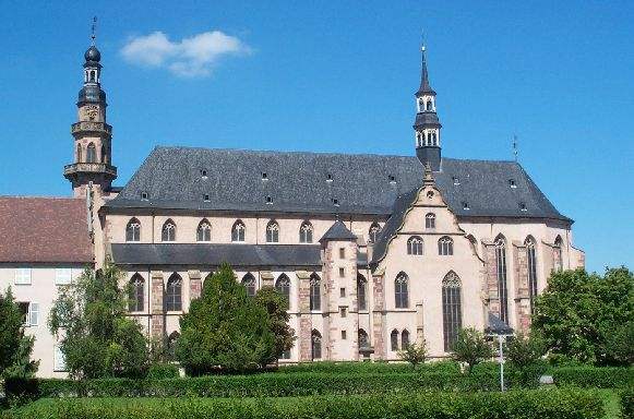 Photo du Monument Historique Ancienne église des Jésuites, ou église catholique Saint-Georges situé à Molsheim