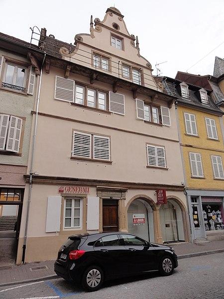 Photo du Monument Historique Maison situé à Molsheim