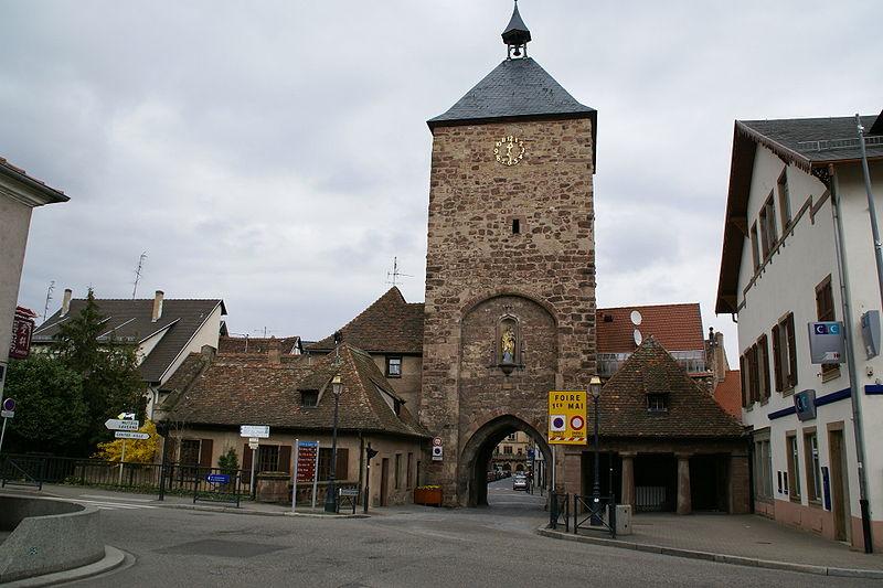 Photo du Monument Historique Tour des Forgerons situé à Molsheim