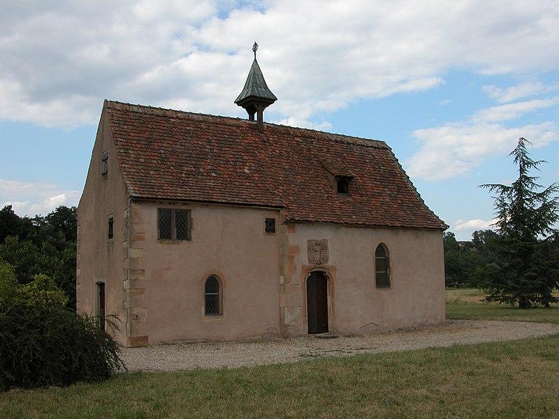 Photo du Monument Historique Chapelle Saint-Jacques situé à Mutzig