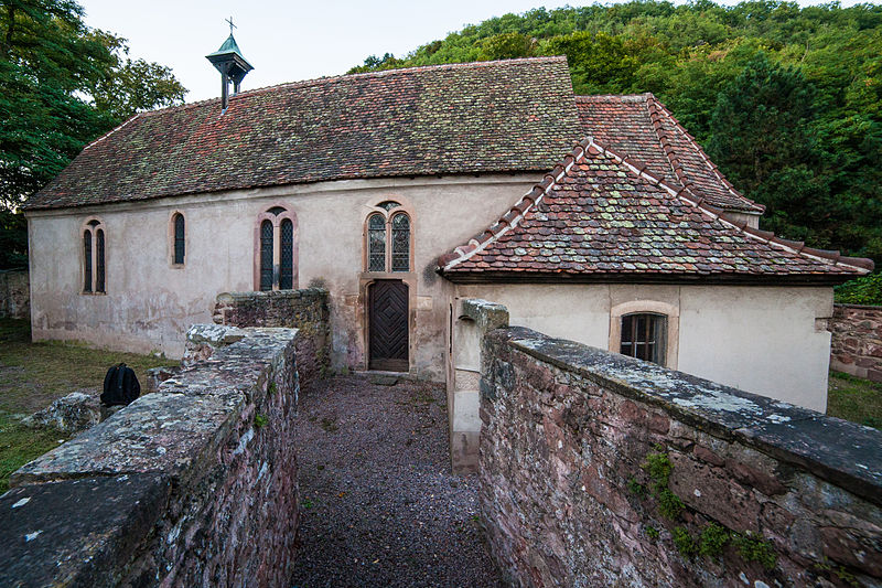 Photo du Monument Historique Chapelle Saint-Wendelin situé à Mutzig