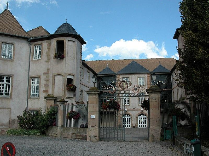 Photo du Monument Historique Ancien château de Rohan situé à Mutzig