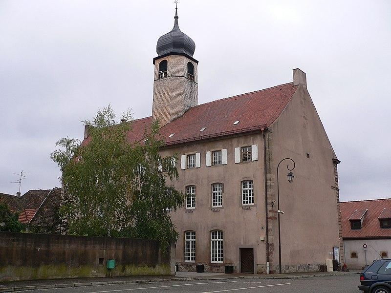 Photo du Monument Historique Hôtel de ville situé à Mutzig