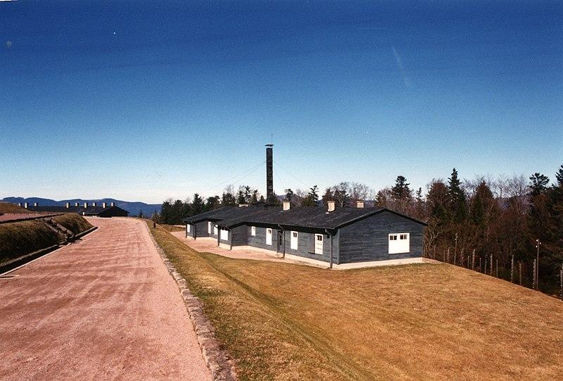 Photo du Monument Historique Ancien camp concentrationnaire de Natzweiler-Struthof, actuellement musée des Déportés situé à Natzwiller