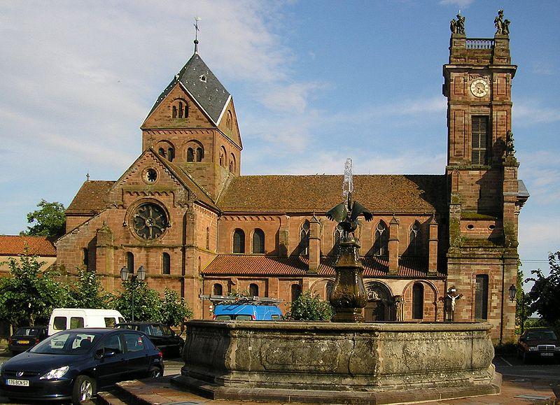 Photo du Monument Historique Ancienne abbaye bénédictine situé à Neuwiller-lès-Saverne