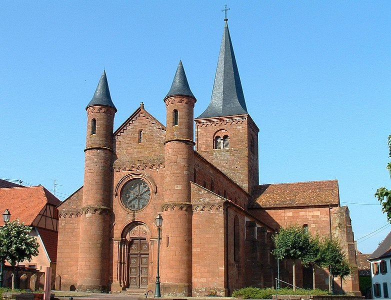 Photo du Monument Historique Eglise Saint-Adelphe situé à Neuwiller-lès-Saverne