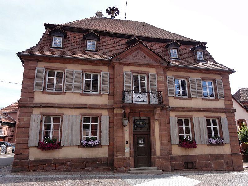 Photo du Monument Historique Mairie situé à Neuwiller-lès-Saverne