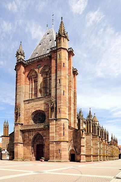 Photo du Monument Historique Eglise catholique Saint-Florent situé à Niederhaslach