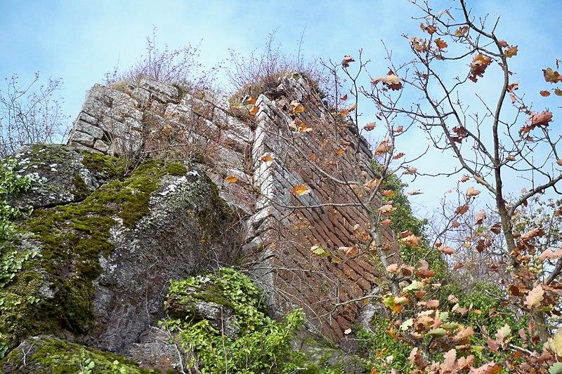 Photo du Monument Historique Ruines du château de Hohenstein situé à Oberhaslach