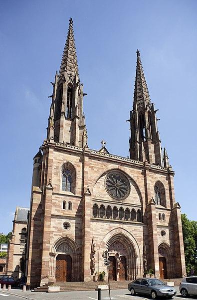 Photo du Monument Historique Eglise paroissiale Saint-Pierre-et-Paul situé à Obernai