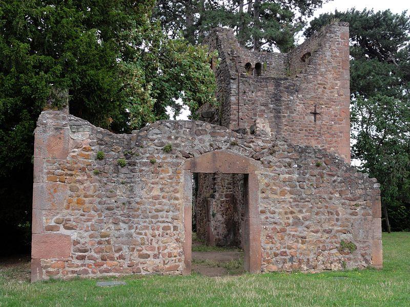 Photo du Monument Historique Vestiges de l'église Saint-Jean-Baptiste-d'Oberlinden dite Oberkirch situé à Obernai