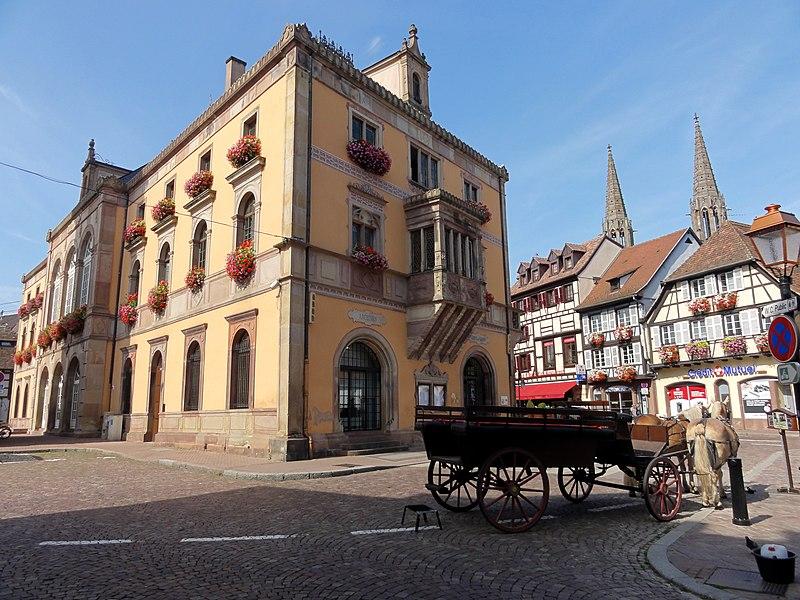 Photo du Monument Historique Hôtel de ville situé à Obernai