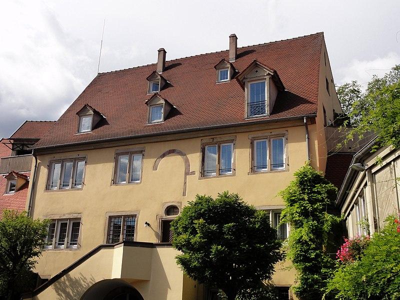 Photo du Monument Historique Maison dite cour de Gail situé à Obernai
