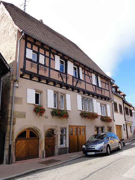 Photo du Monument Historique Maison situé à Obernai