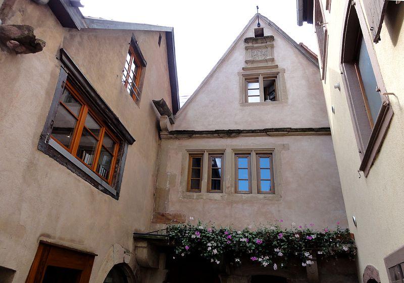 Photo du Monument Historique Ancienne Maison des Bains situé à Obernai