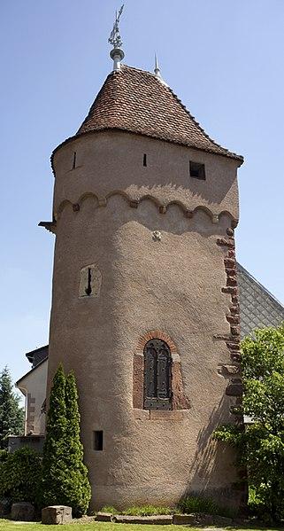 Photo du Monument Historique Vieux remparts situé à Obernai