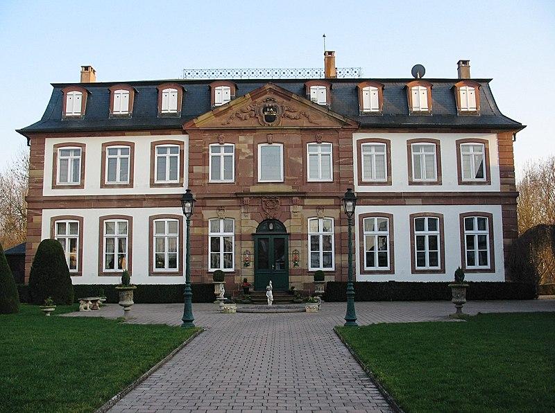 Photo du Monument Historique Château situé à Odratzheim