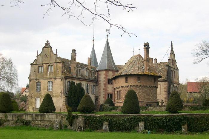 Photo du Monument Historique Château situé à Osthoffen