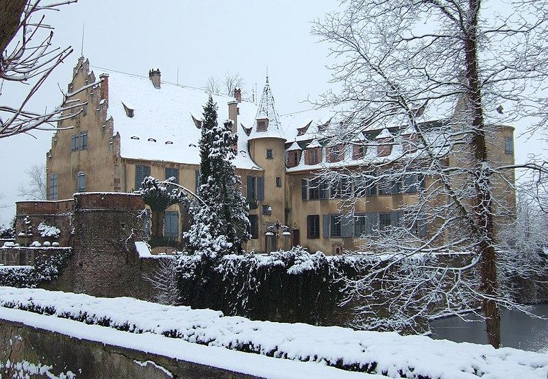 Photo du Monument Historique Château situé à Osthouse