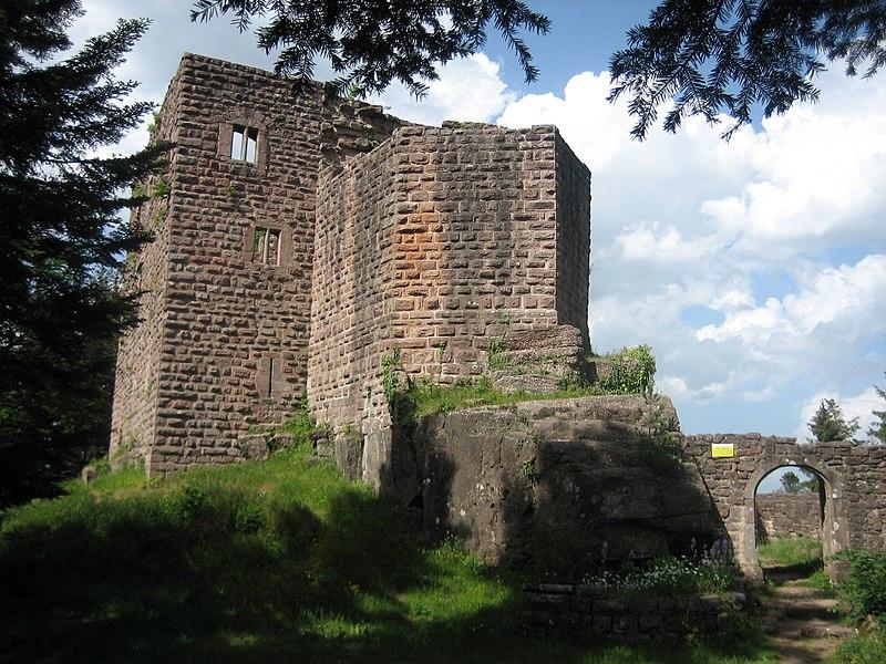 Photo du Monument Historique Ruines du château de Birkenfels situé à Ottrott