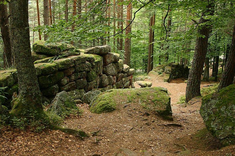 Photo du Monument Historique Mur païen situé à Ottrott