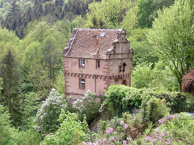 Photo du Monument Historique Ancienne maison de garde situé à Petite-Pierre (La)