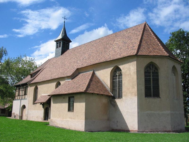 Photo du Monument Historique Chapelle Sainte-Marie-du-Chêne ou Notre-Dame-du-Chêne situé à Plobsheim