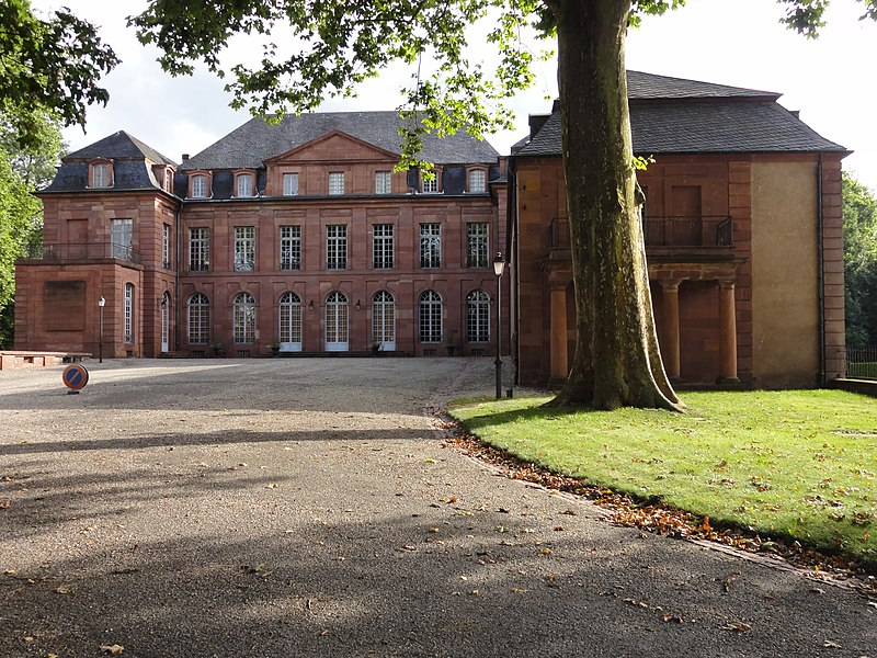 Photo du Monument Historique Château de Dietrich situé à Reichshoffen