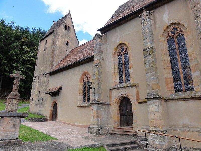 Photo du Monument Historique Eglise mixte Saint-Jacques-le-Majeur situé à Reipertswiller