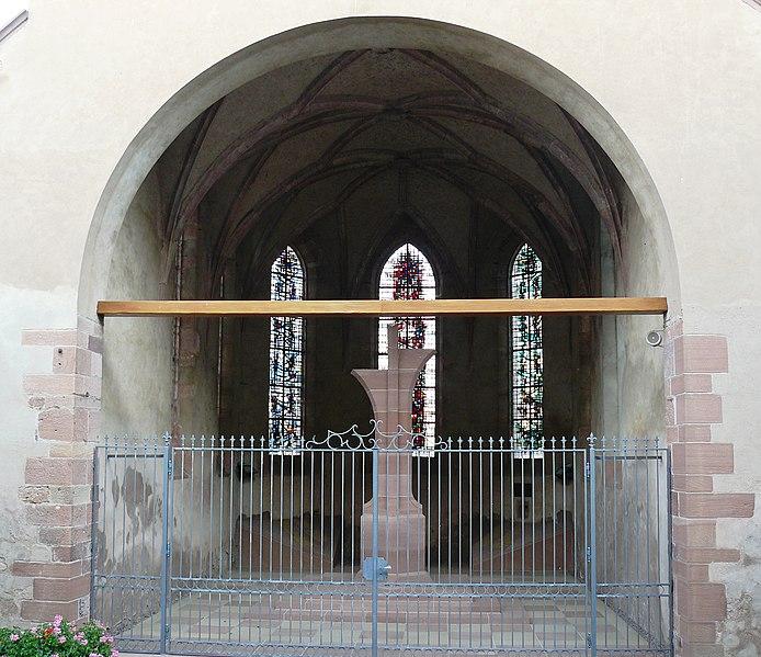 Photo du Monument Historique Ancienne église catholique Saint-Michel situé à Rhinau