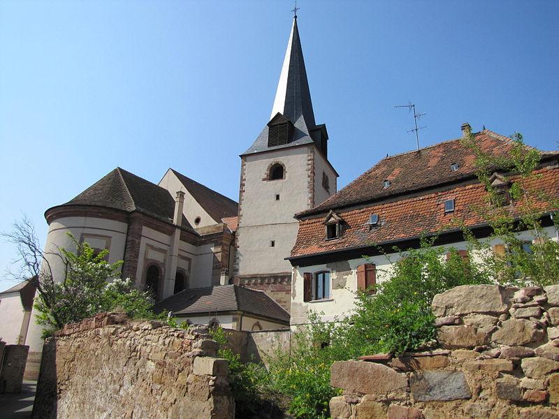Photo du Monument Historique Eglise catholique Saint-Etienne situé à Rosheim