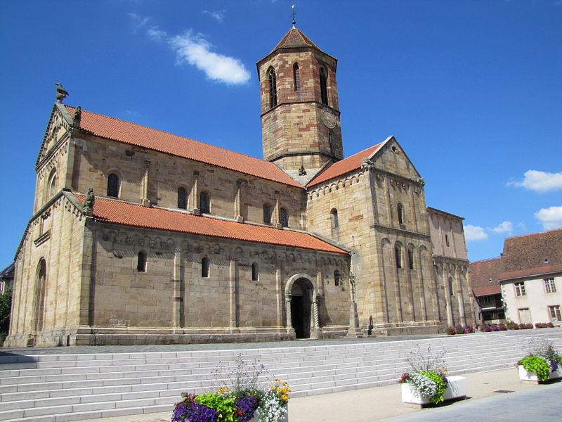 Photo du Monument Historique Eglise Saint-Pierre-et-Paul situé à Rosheim