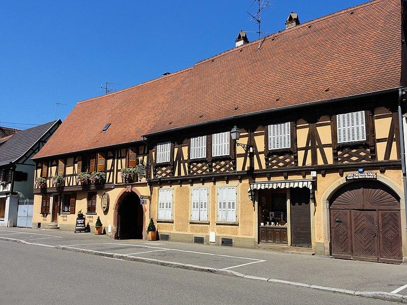 Photo du Monument Historique Maison situé à Rosheim