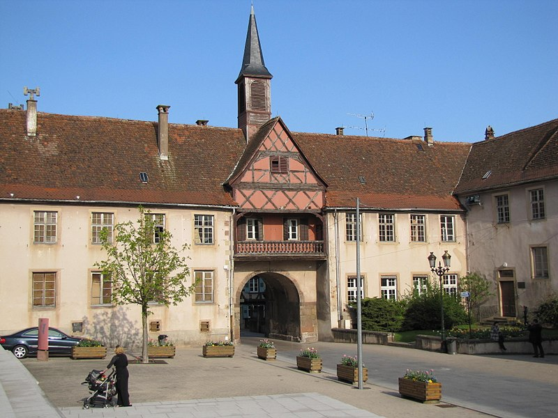 Photo du Monument Historique Remparts et quatre anciennes portes situé à Rosheim