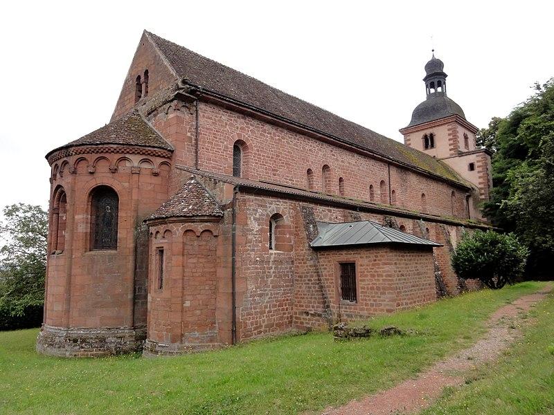 Photo du Monument Historique Ancienne église abbatiale situé à Saint-Jean-Saverne