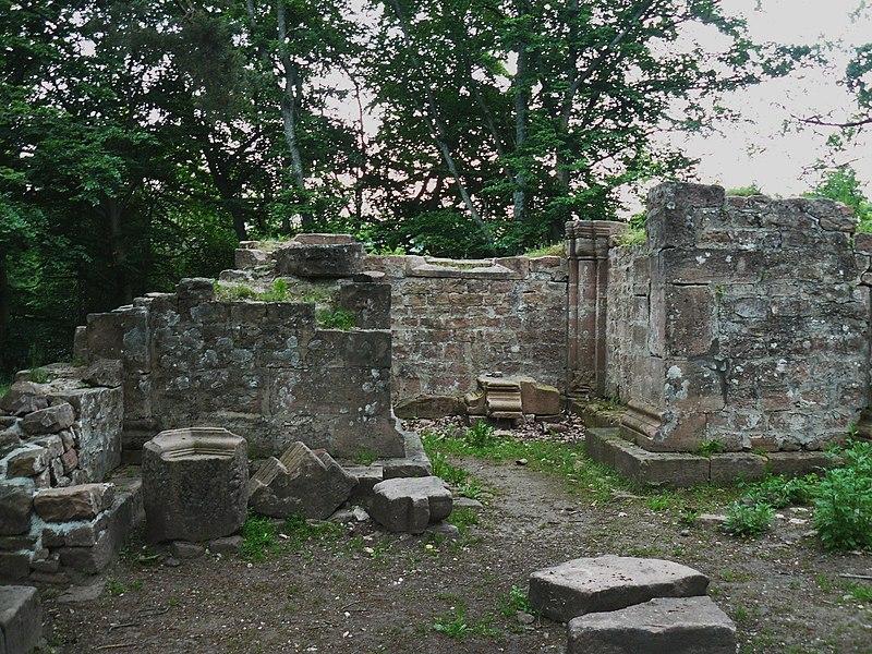 Photo du Monument Historique Chapelle Saint-Jacques situé à Saint-Nabor