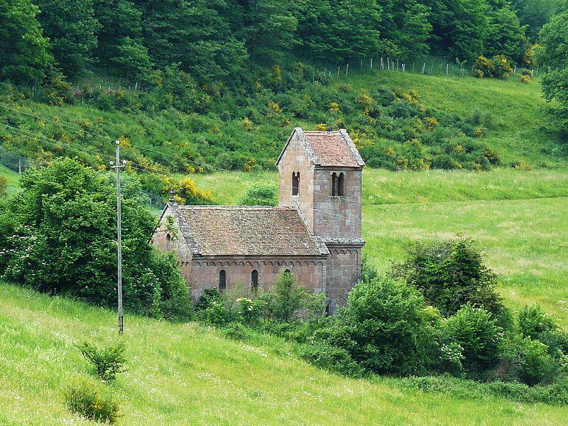 Photo du Monument Historique Chapelle Saint-Nicolas situé à Saint-Nabor