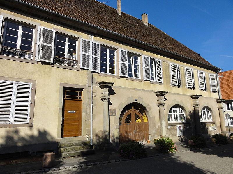 Photo du Monument Historique Ancien hôtel de ville de Neusaarwerden situé à Sarre-Union