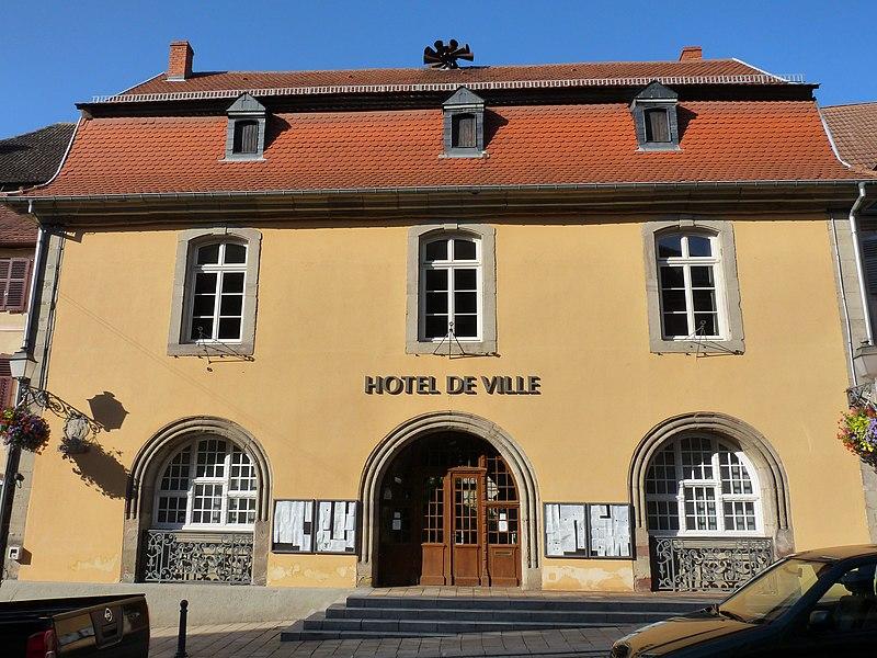 Photo du Monument Historique Hôtel de ville situé à Sarre-Union