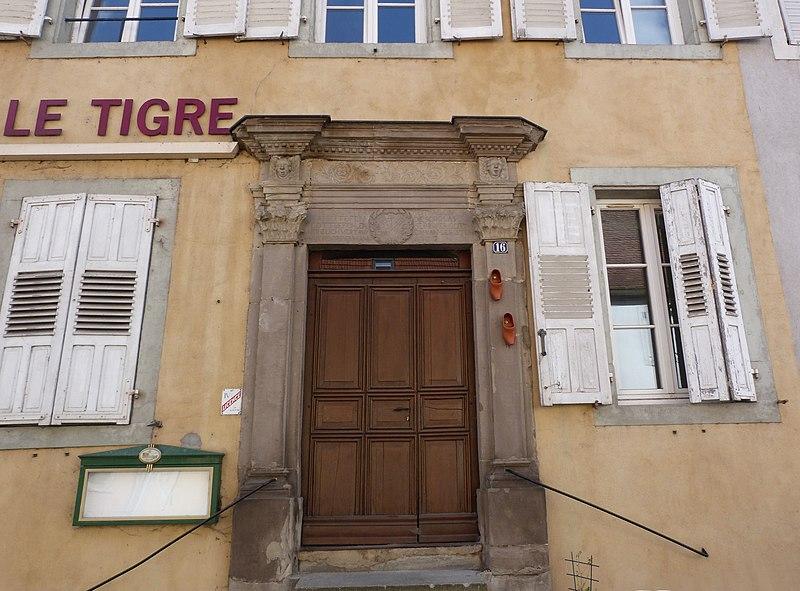 Photo du Monument Historique Maison situé à Sarre-Union