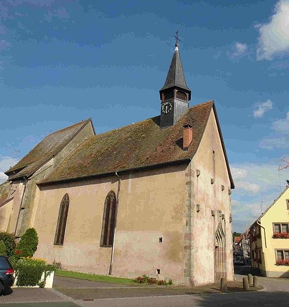 Photo du Monument Historique Eglise collégiale Saint-Blaise situé à Sarrewerden