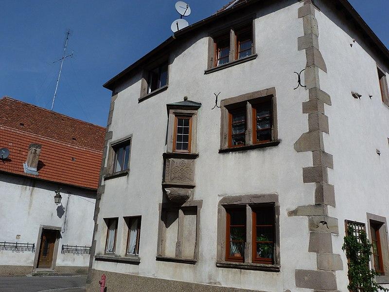 Photo du Monument Historique Maison situé à Sarrewerden